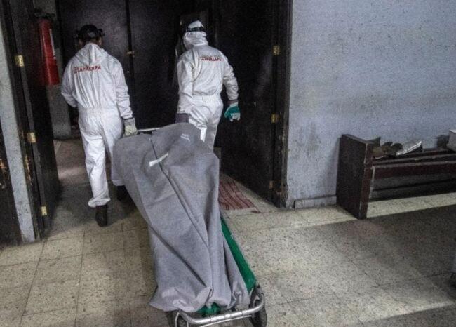 369944_Bolsa para cadáveres, referencia / AFP