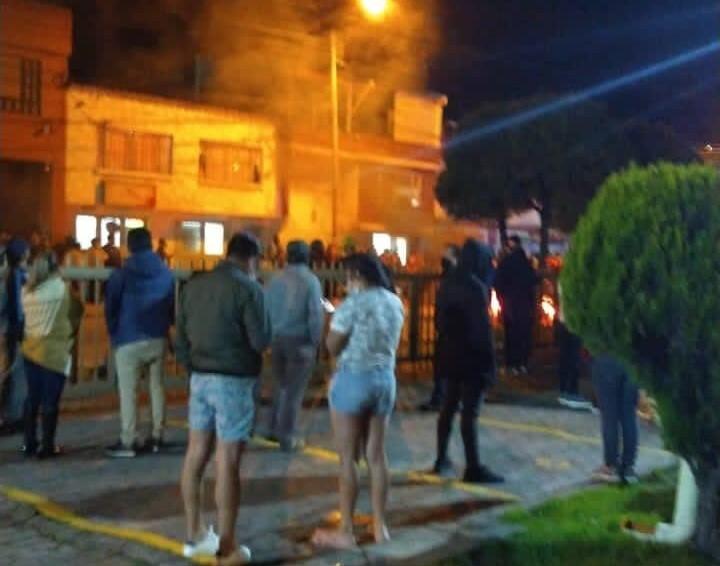 habitantes en Verbenal quemaron llantas por aumento de hurtos.jpeg