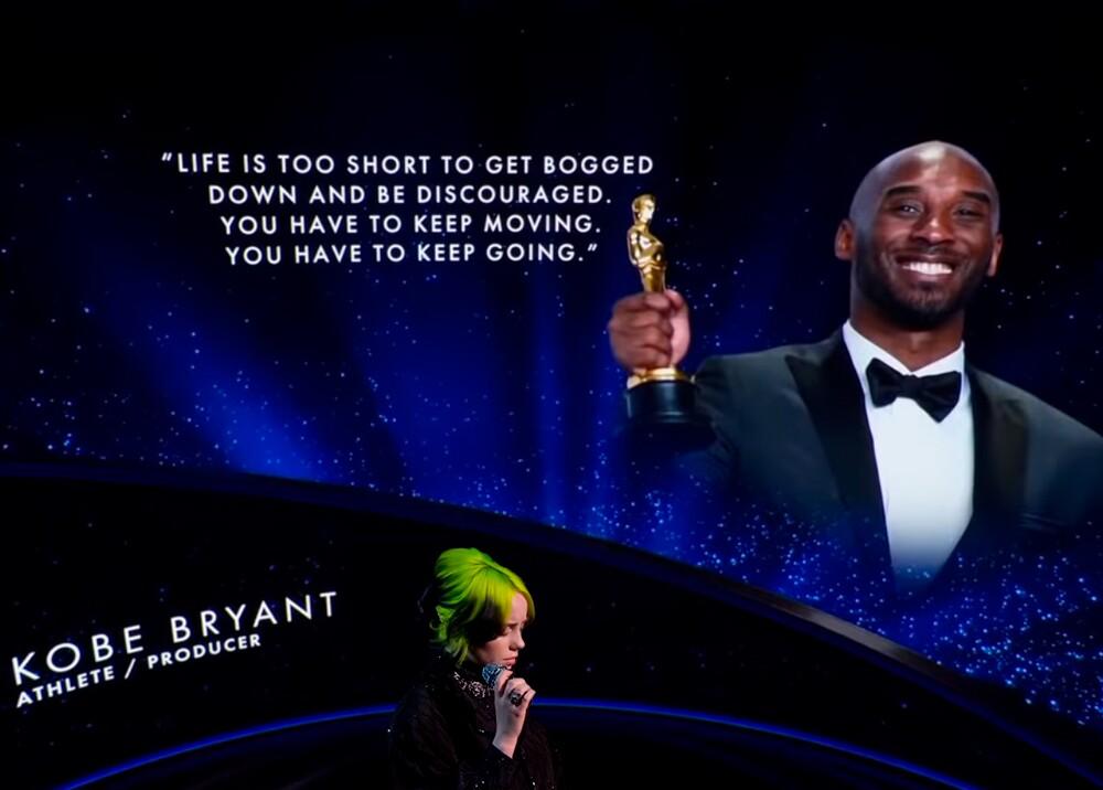 354897_Homenaje a Kobe Bryant en los premios Óscar // Foto: premios Óscar - composición BLU Radio
