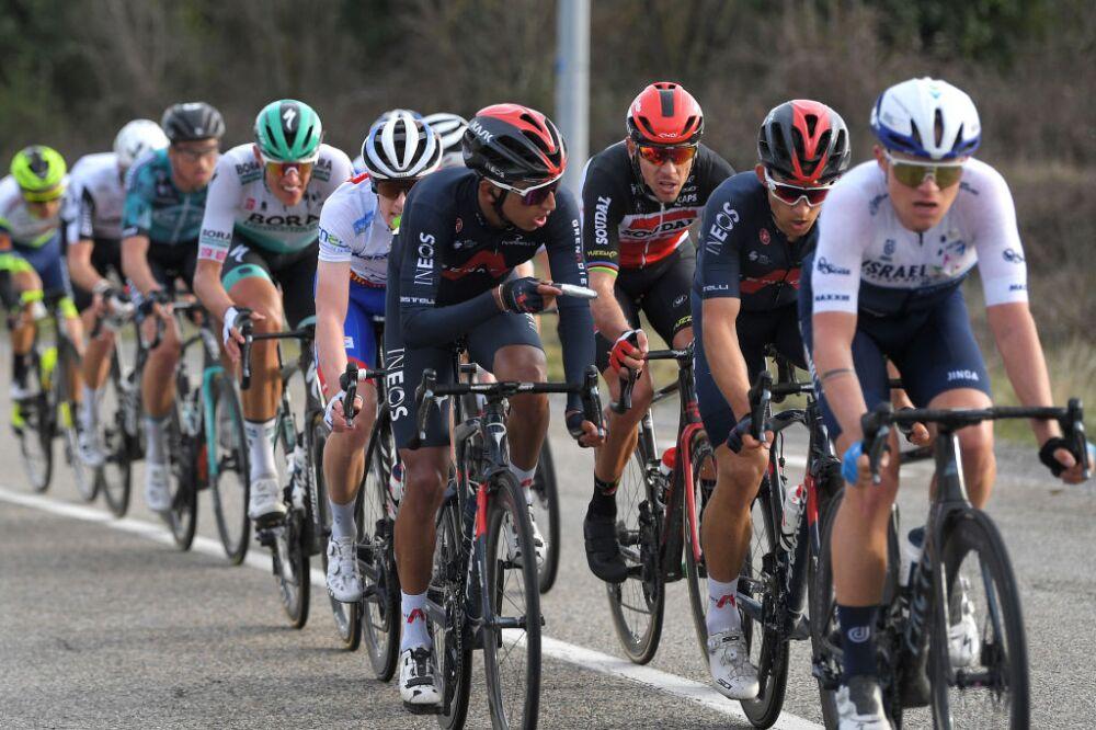 Egan Bernal, ciclista del Ineos
