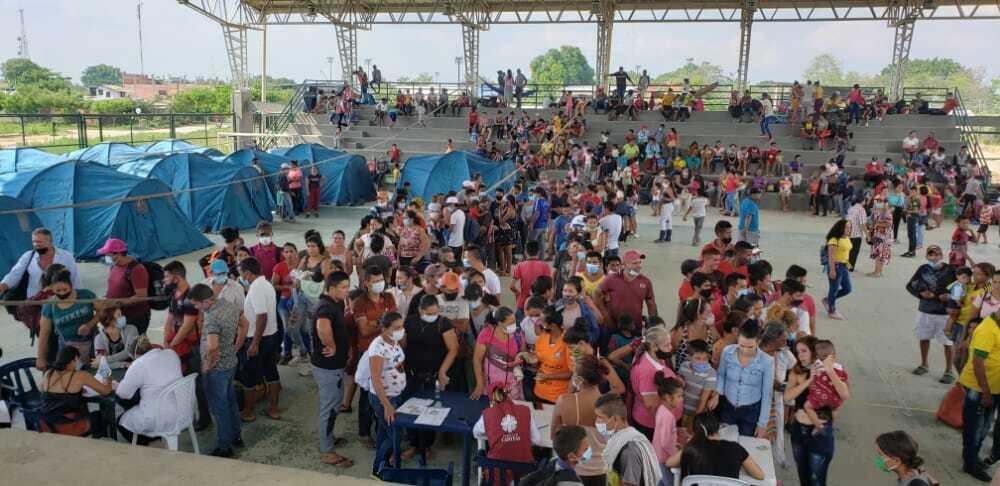 Desplazados en Arauquita