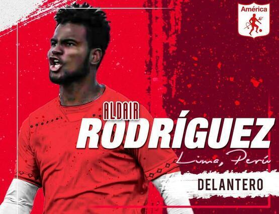 Aldair Rodríguez nuevo jugador de América