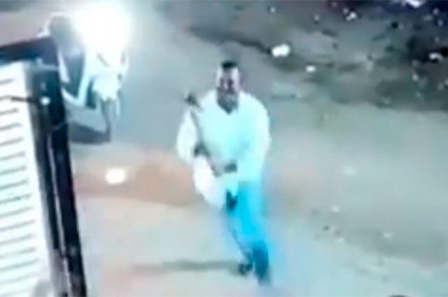 Ataque con hacha en India