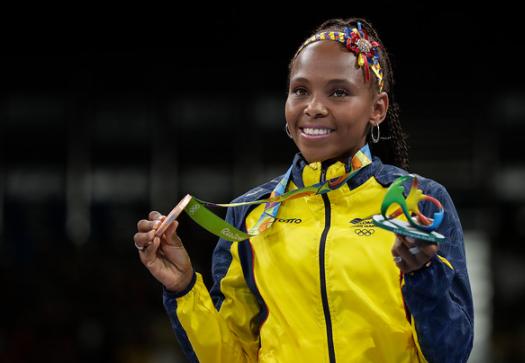 Ingrit Valencia representará a Colombia en los Juegos Olímpicos de Tokio 2020.