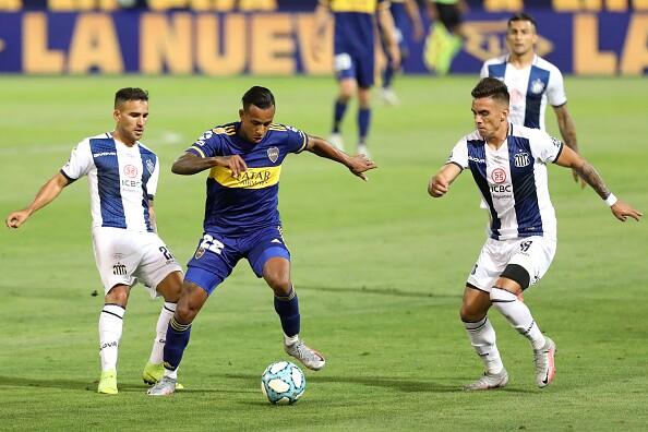 Sebastián Villa, Boca vs Talleres