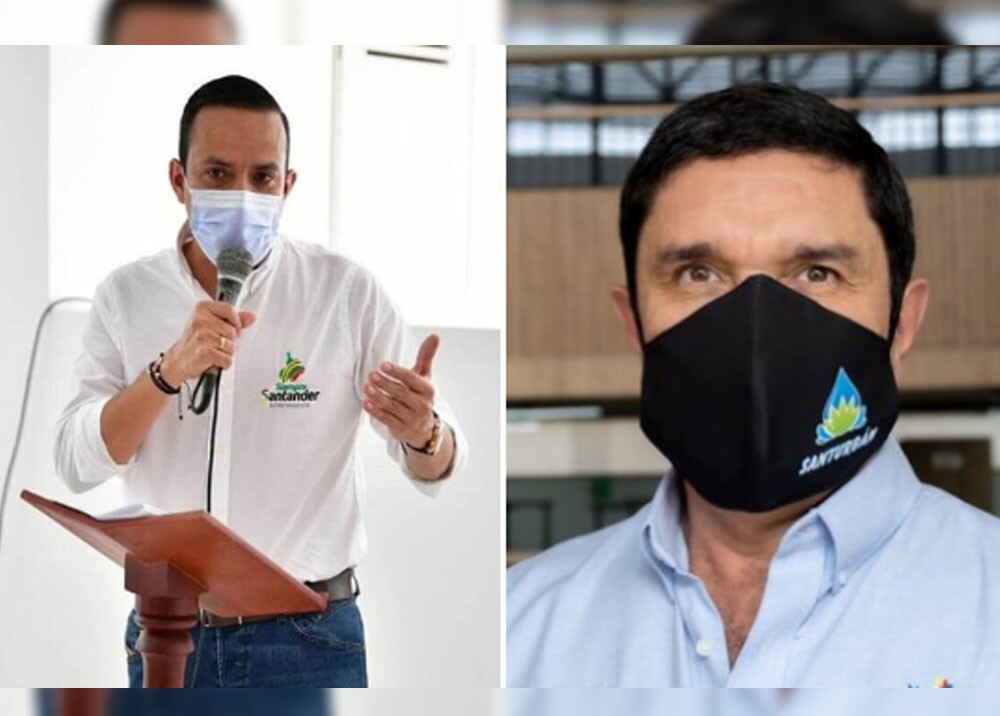 gobernador de santander y alcalde de bucaramanga dieron positivo para coronavirus.jpg