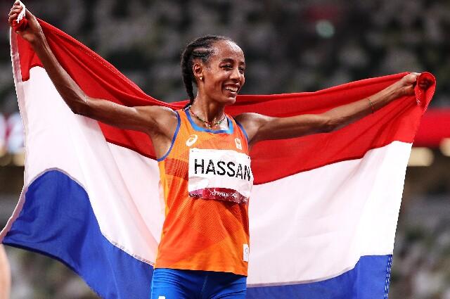 Sifan Hassan, en los Juegos Olímpicos de Tokio 2020
