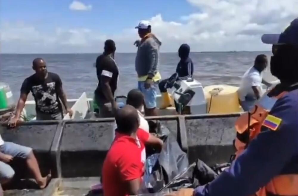 Búsqueda de víctimas de naufragios en Tumaco