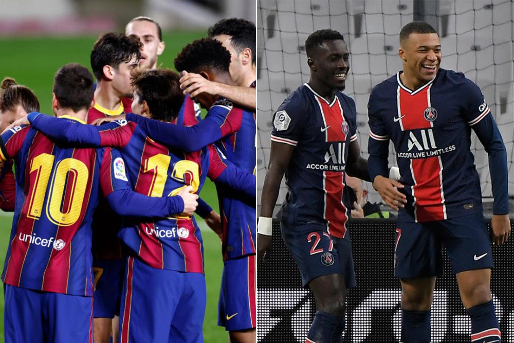 Jugadores del Barcelona y PSG.png
