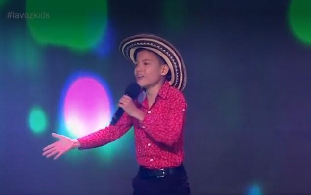 A ritmo de vallenato, Fernando conquistó a los jurados de La Voz Kids