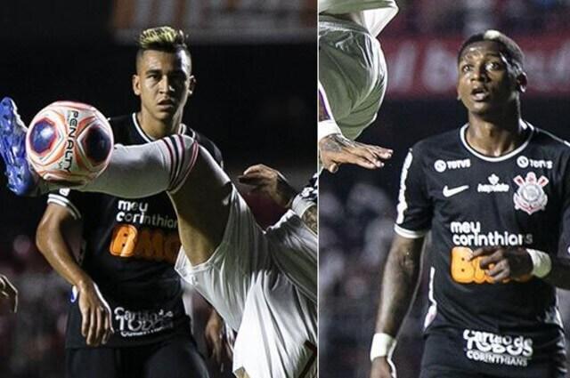 333534_Víctor Cantillo y Yony González, jugadores de Corinthians