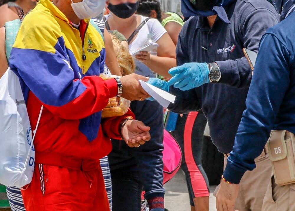 Migrantes venezolanos // Foto: AFP, imagen de referencia