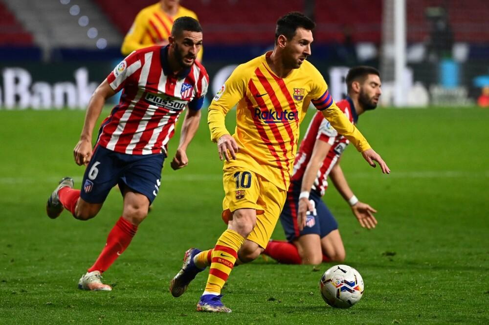 Barcelona atletico de Madrid AFP Messi.