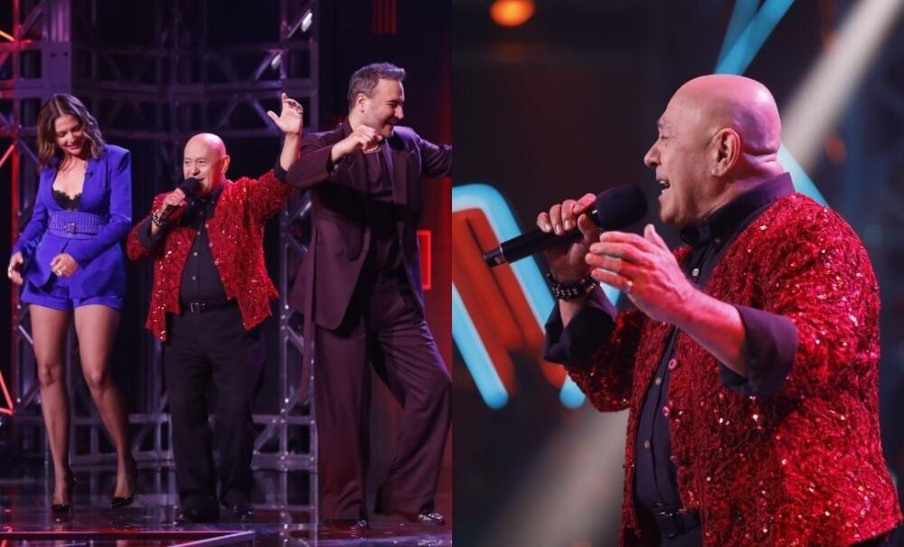 Entrenadores de La Voz Senior asumieron el reto de bailar cumbia.