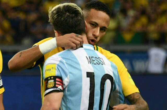 289589_Neymar y Lionel Messi