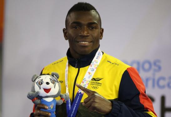 Jorge Vivas representará a Colombia en los Juegos Olímpicos de Tokio 2020.