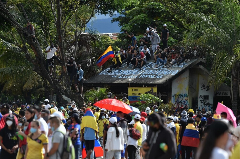 COLOMBIA-TAX-REFORM-DEMONSTRATION
