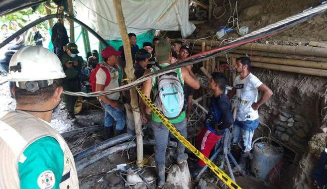 Mineros atrapados en Neira, Caldas