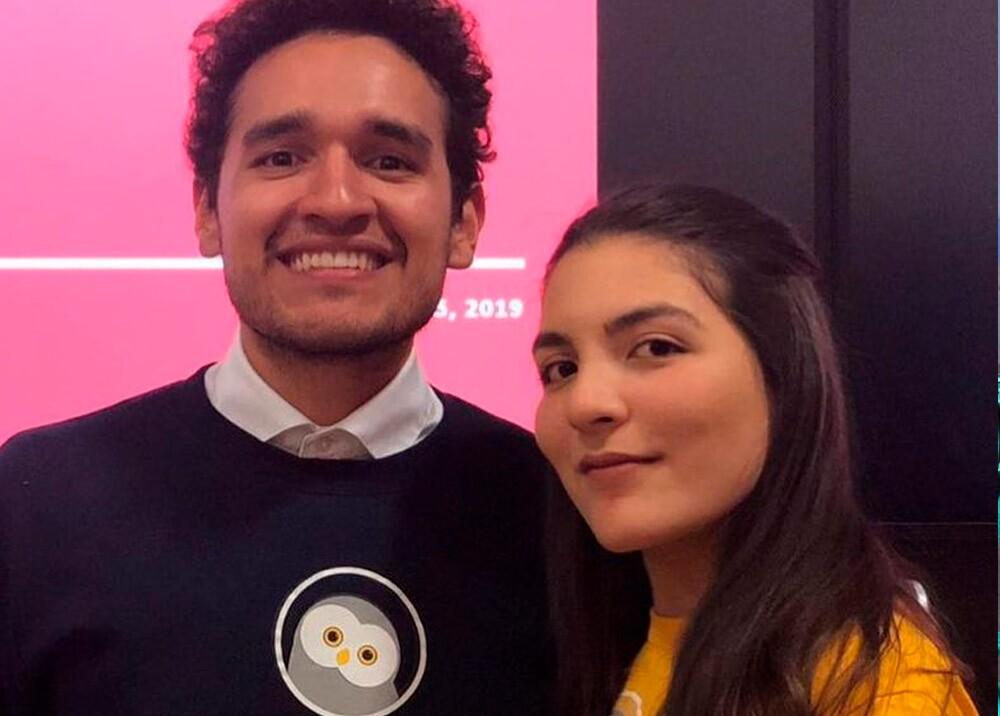 Laura Velázquez Herrera y José Zea