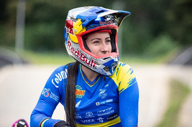 Mariana Pajón, en los Juegos Olímpicos de Tokio