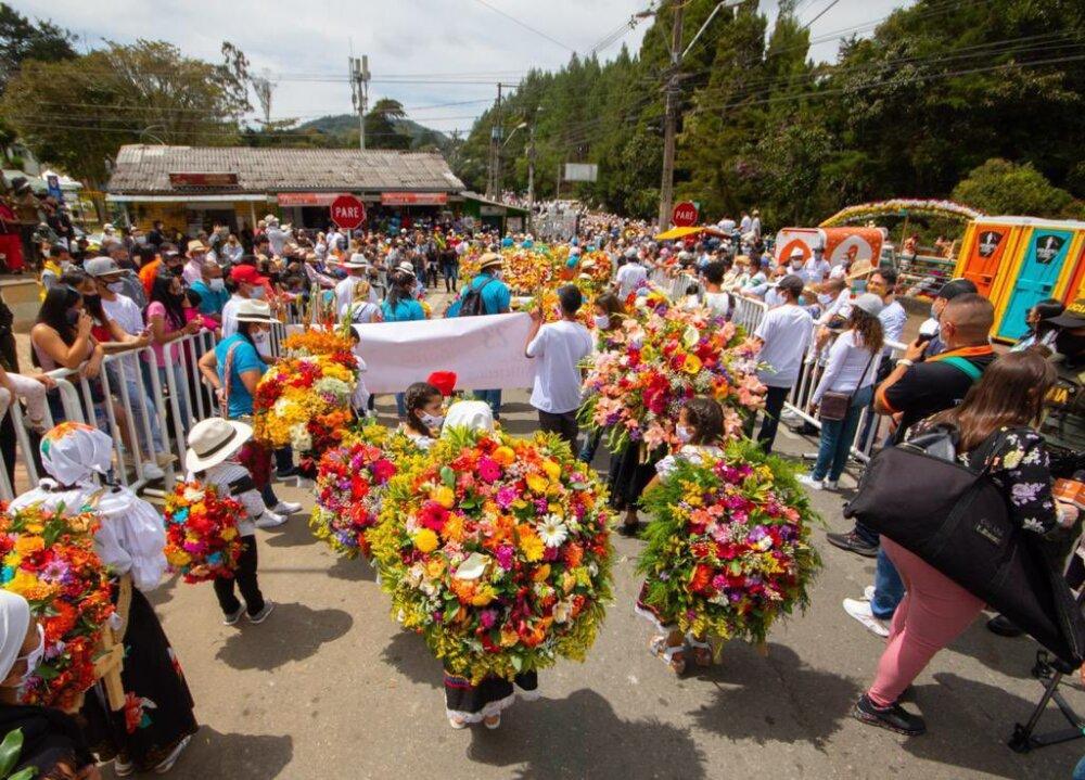 Feria de las Flores 2021.