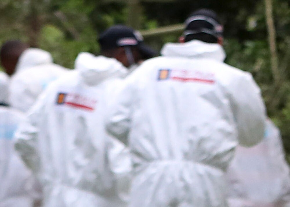 370176_Levantamiento de cadáver // Foto: AFP, imagen de referencia