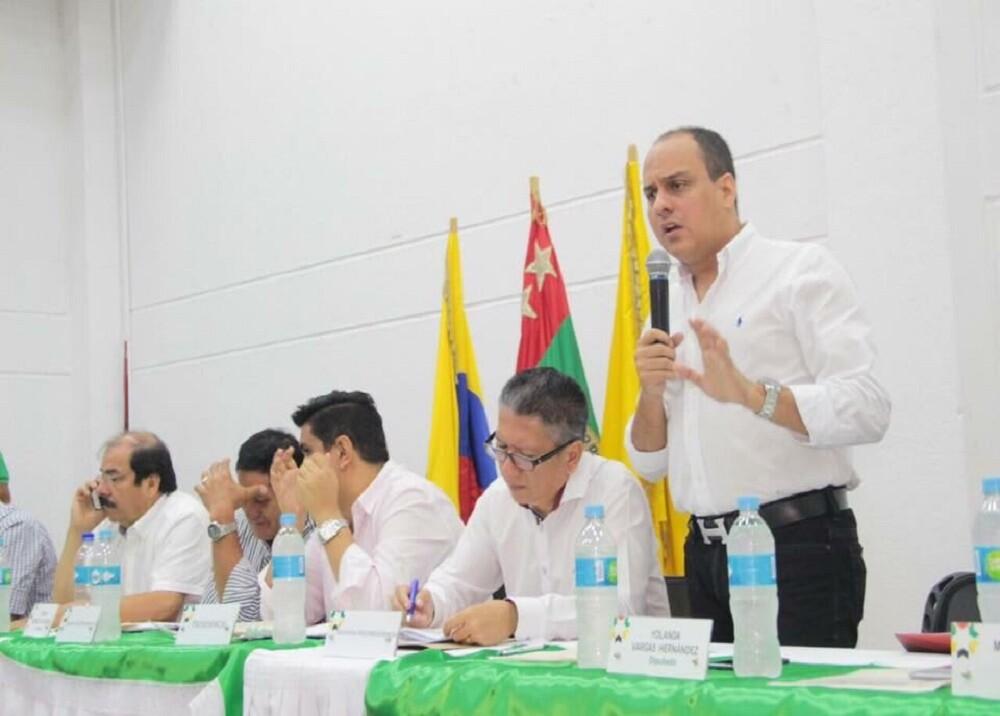 295814_Jhon Abiud Ramírez. Foto: Asamblea de Santander / BLU Radio