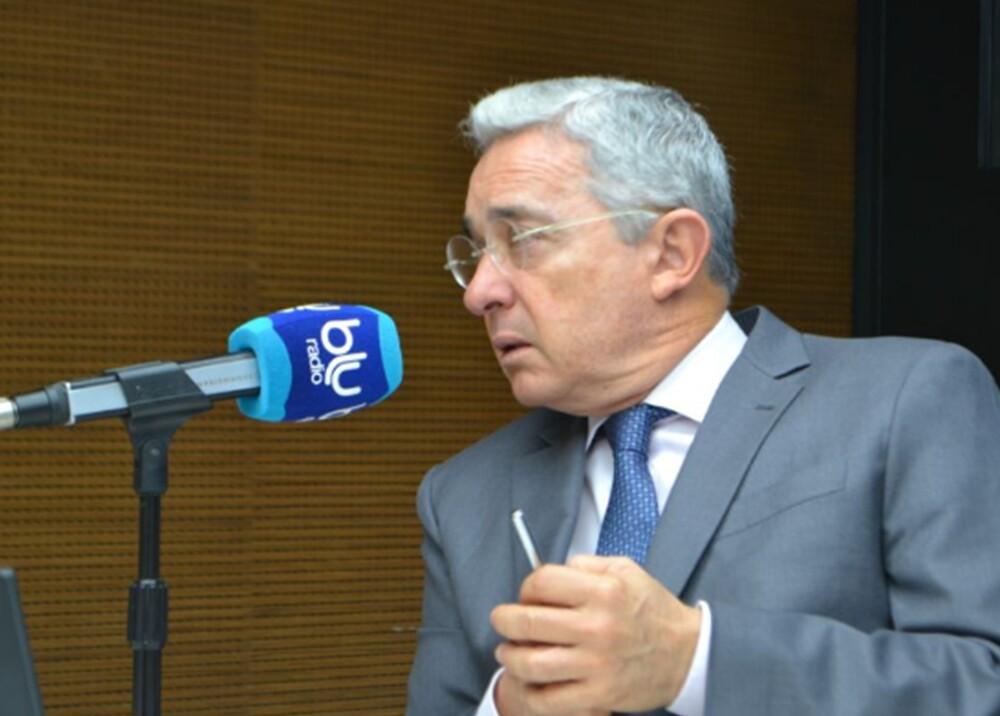 270499_BLU Radio. Alvaro Uribe Velez / Foto: BLU Radio