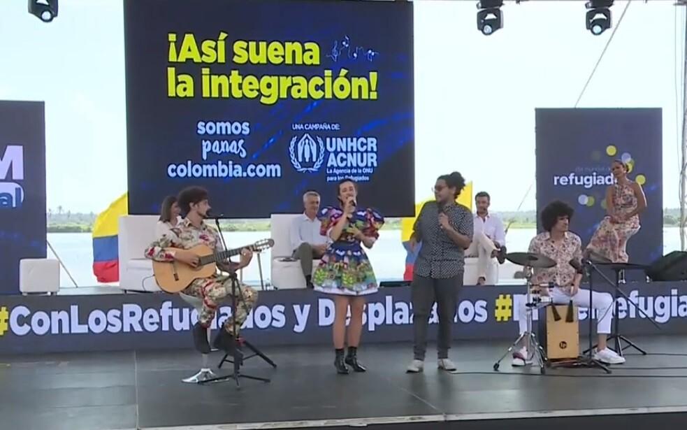 Día del Refugiado: artistas colombianos y venezolanos suman sus voces en concierto virtual