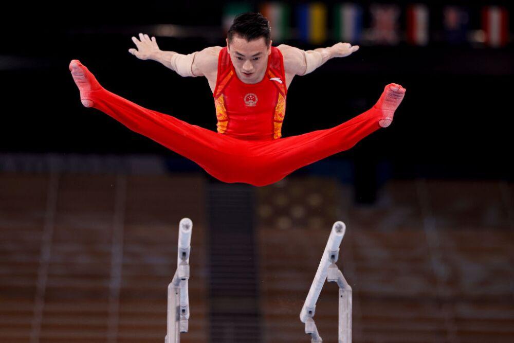 Zou Jingyuan, gimnasta de China