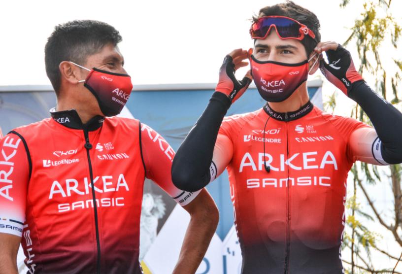 Nairo Quintana ocupó el puesto 15 en la etapa 1 del Tour de los Alpes Marítimos.