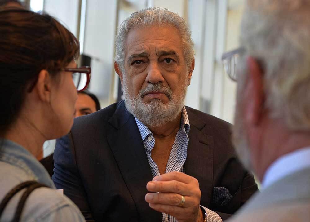 340929_BLU Radio // Plácido Domingo // Foto: AFP