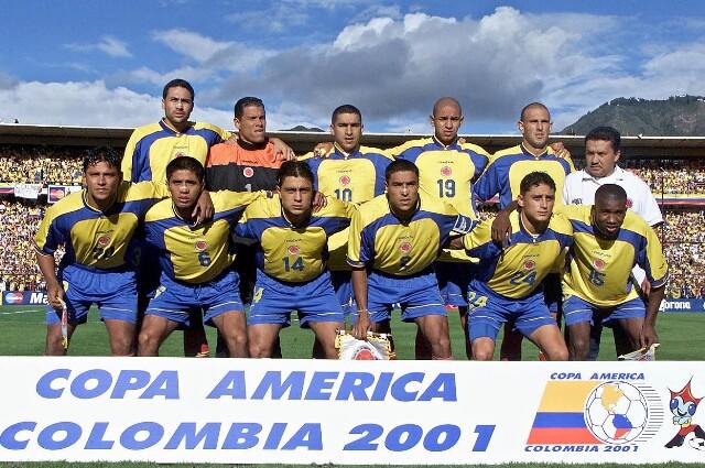 Selección Colombia Copa América 2001