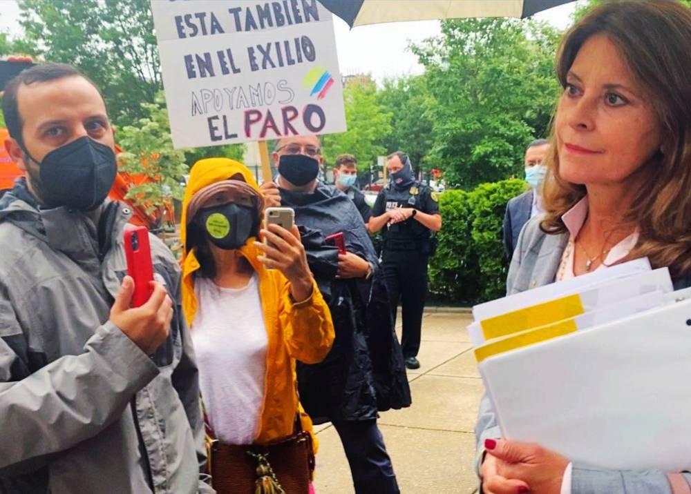 Marta Lucía Ramírez en Washington