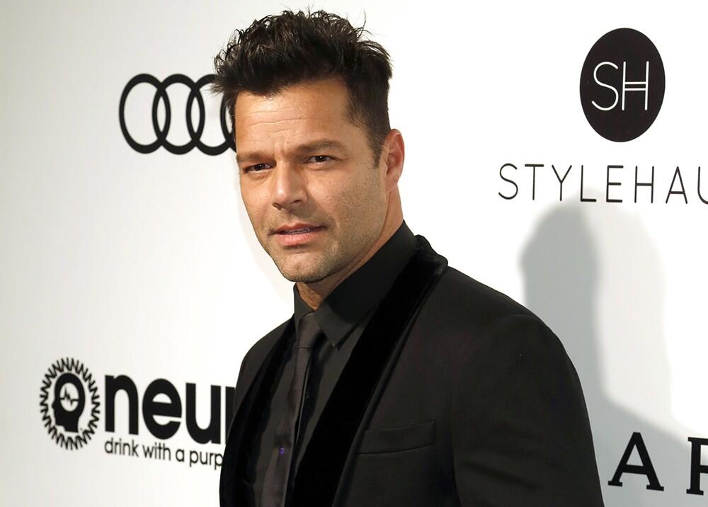 3772_La Kalle. Foto de Ricky Martin sin camisa / Foto: AFP