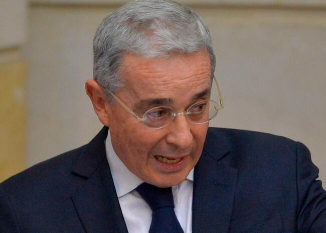 376231_Álvaro Uribe // Foto: AFP