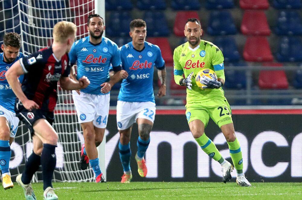 David Ospina Bologna FC v SSC Napoli