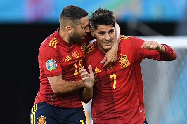 Gol de Álvaro Morata con España vs. Polonia