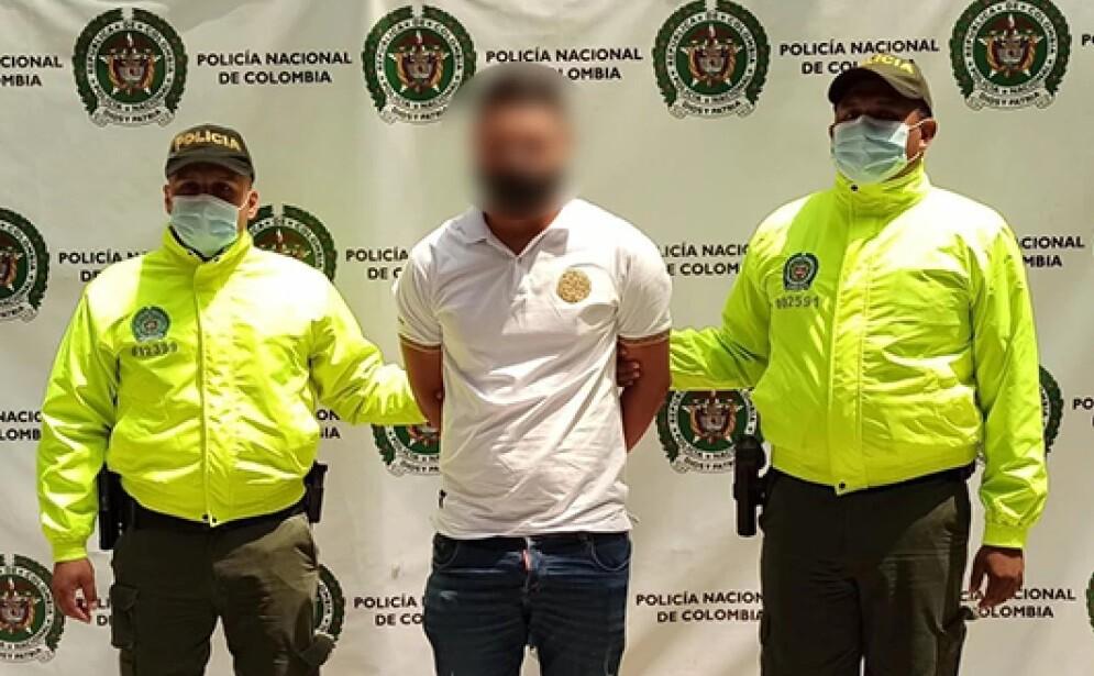 hombre capturado en Medellín por tortura a su pareja