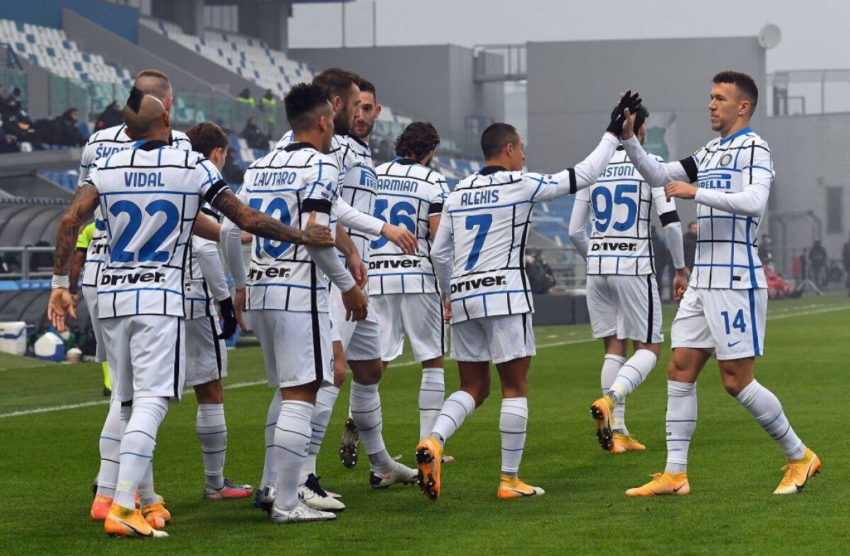 Inter de Milán sacó la casta: le ganó 0-3 a Sassuolo y es segundo de la  Serie A