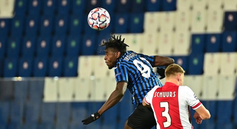 Duvan Zapata Atalanta vs Ajax