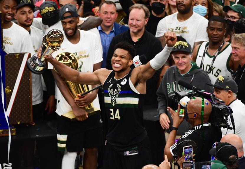 Los Bucks son los campeones de la NBA 2021.