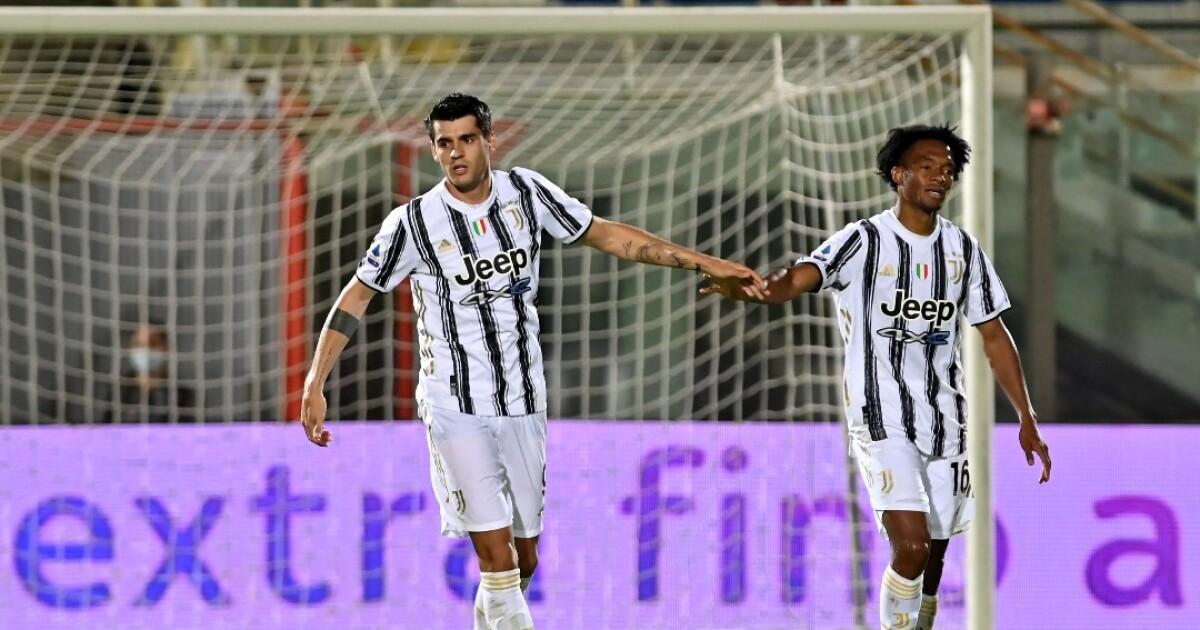 Juventus, con Juan Guillermo Cuadrado en el segundo tiempo, no pudo frente al Crotone: empate 1-1