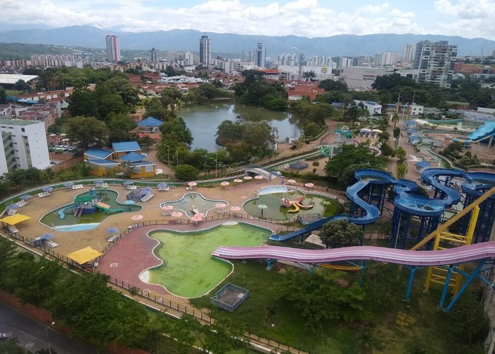 362994_BLU Radio. Abandono parque El Lago / Foto: BLU Radio