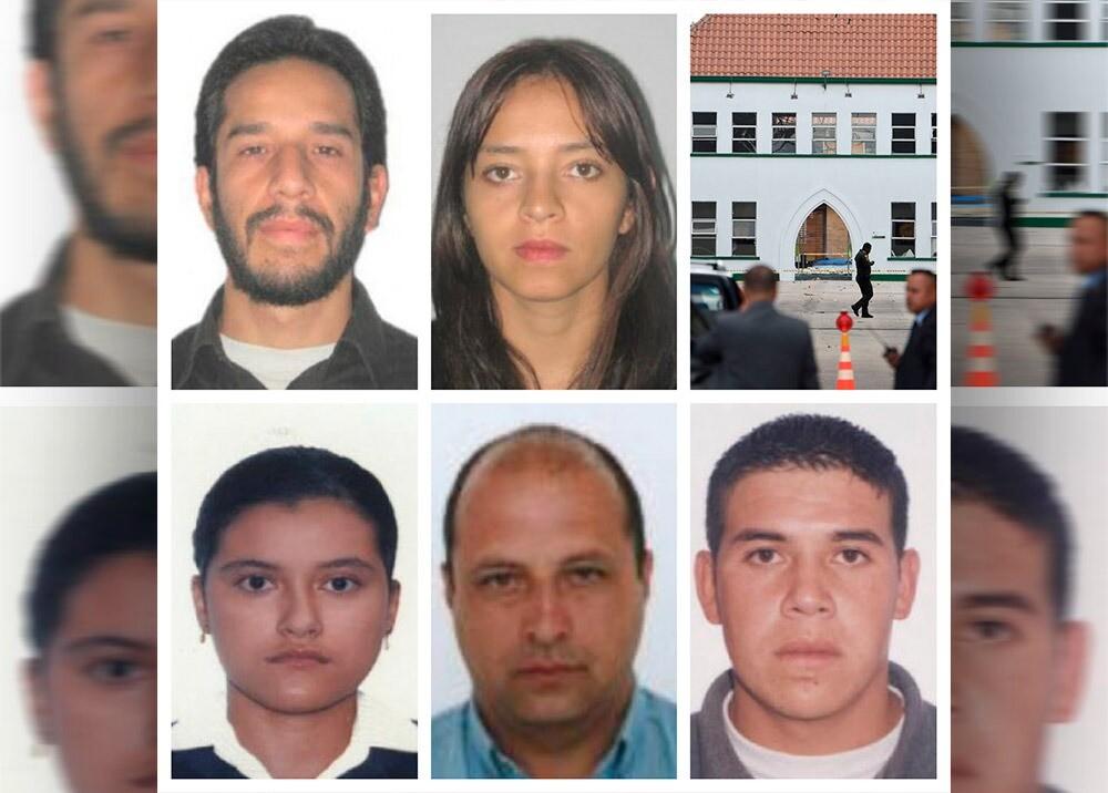 369706_Capturados por el atentado en Escuela General Santander - Fotos suministradas