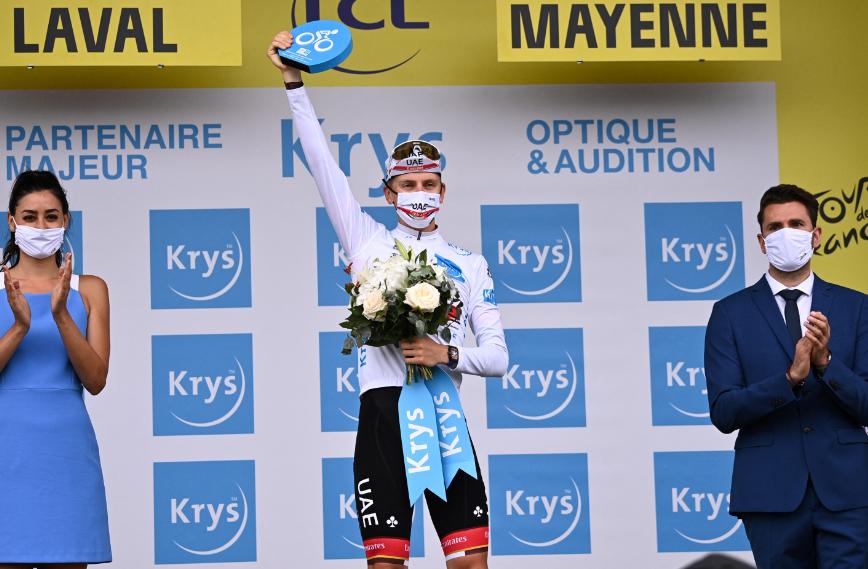 Tadej Pogacar fue el ganador de la etapa 5 del Tour de Francia.