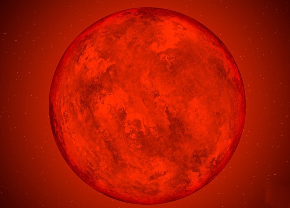 370492_Estrella Luyten // Imagen: modelo recreado por la Nasa
