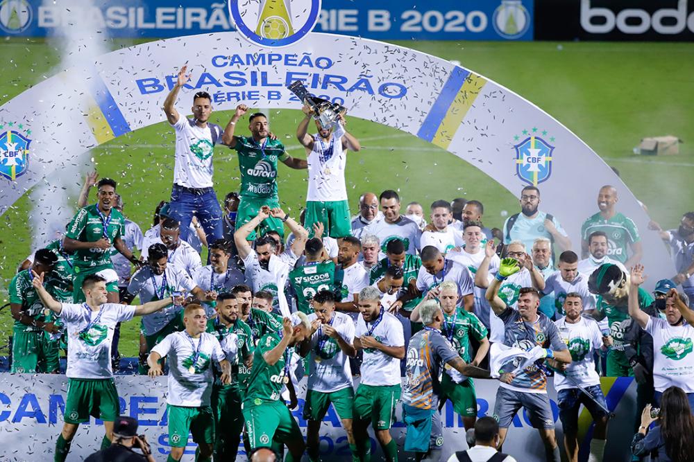 Chapecoense, campeón del Brasileirao B. AFP.png