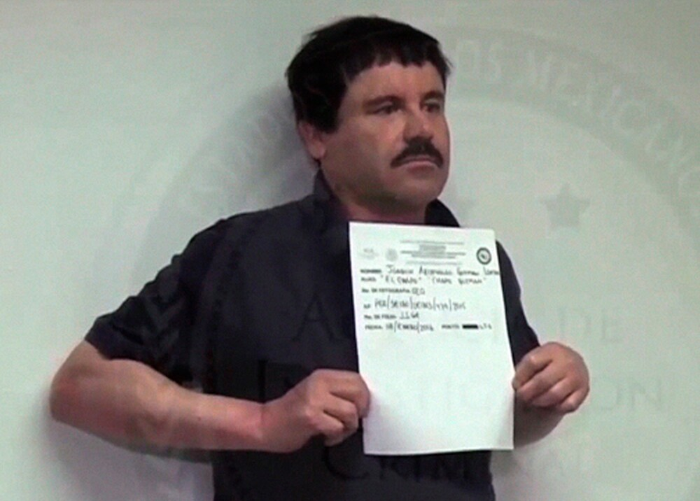 355584_BLU Radio. Captura del 'Chapo' Guzmán / Foto: AFP