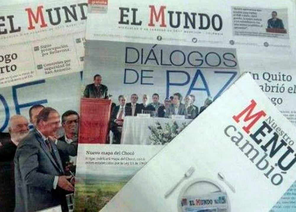 372863_Diario El Mundo anuncia cierre de su redacción // Foto: periódico El Mundo